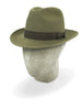 Nogal Brown Rivoli Trilby
