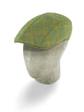 Yellow Wool Roma Flat Cap