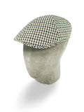 Grey Wool/Cotton Mix Roma Cap