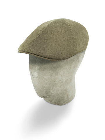 Brown Cashmere Roma Cap
