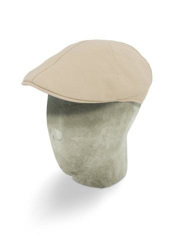 Plain Natural Cotton Roma Cap