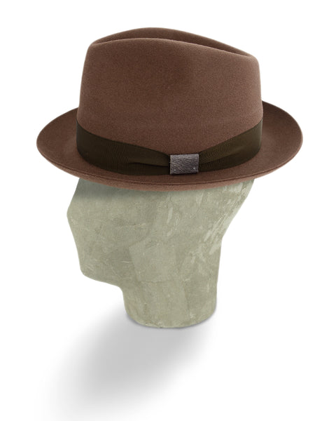 Umber Natural Sinatra Trilby