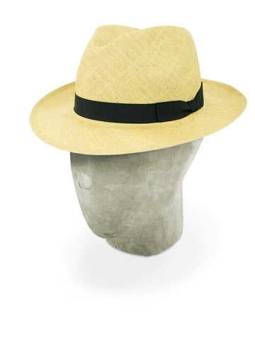 Sand Yellow Sisal Trilby