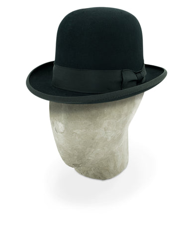 Black Soft Homburg Trilby