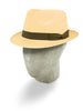Mocha Brown Soho Trilby Panama