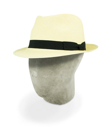 Natural Soho Trilby Panama