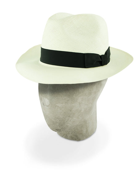 Supersoft Bleached Trilby Panama
