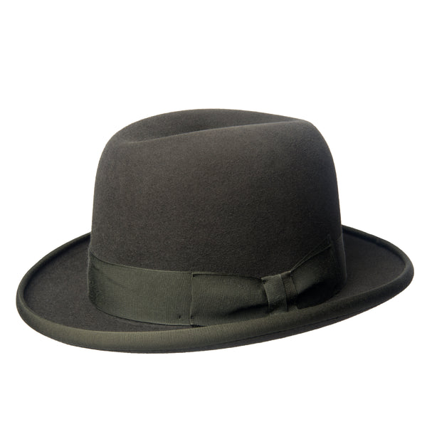Dark Green Soft Homburg Trilby