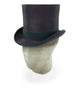 Aubergine Purple Tall Top Hat