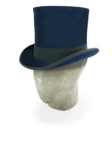 Blue Tall Top Hat