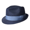 Navy Cotton Tennor Hat