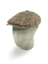 Brown Twill Wool Toni Cap