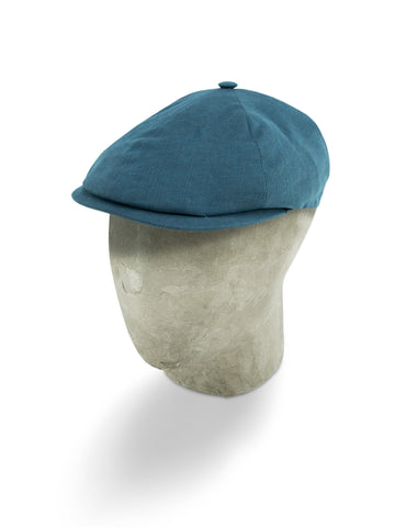 Blue Oxford Cotton Toni Cap