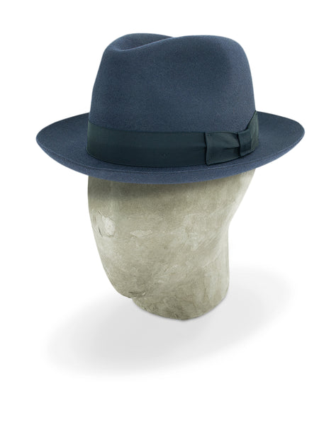 Navy Blue Topham Trilby