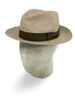 Mocca Brown Cotton Travel Trilby