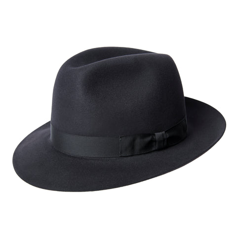 Black Walker Trilby