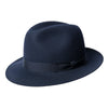 Navy Blue Walker Trilby