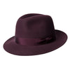 Burgundy Walker Trilby