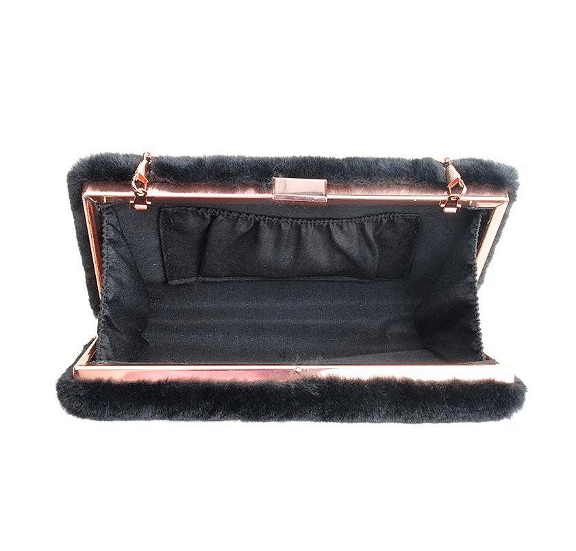 Fur(faux) Clutch Bag