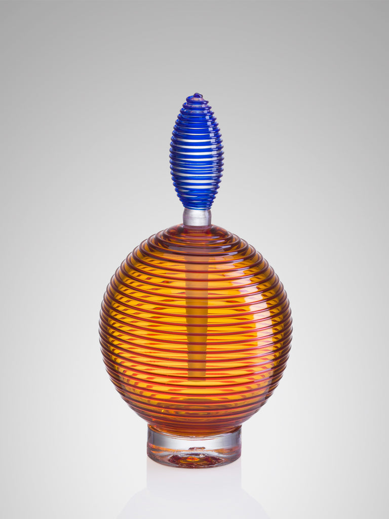 Spiral Perfume Bottle by Bob Crooks