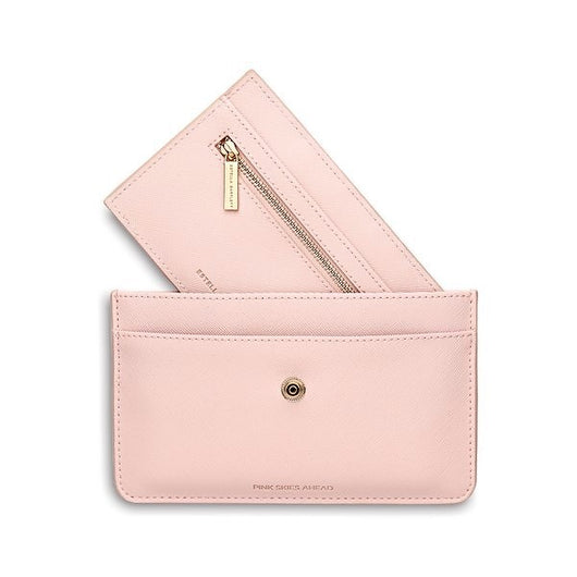 Travel Document Wallet-Blush