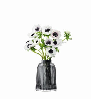 Pleat Small (gr)Vase by LSA