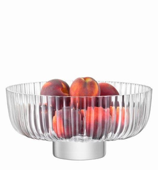 Pleat Footed Salad Bowl by LSA
