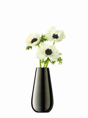 Metallic Bud Vase in Silver by LSA