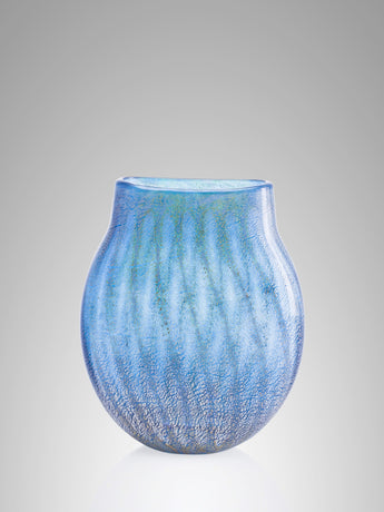 Pinstripe Short Vase by Allister Malcolm