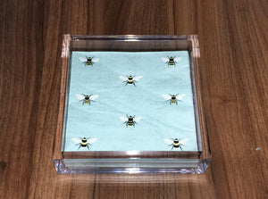 Bee Napkin Acrylic Holder