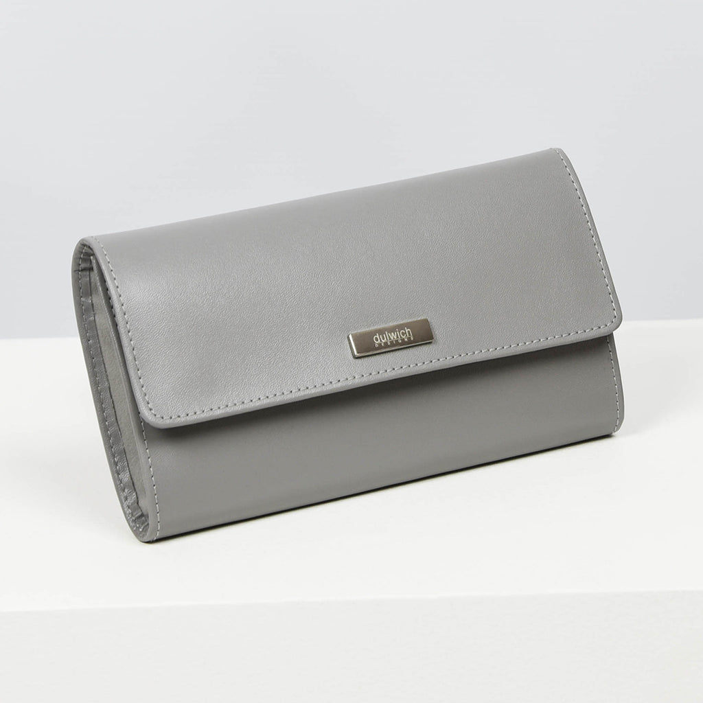 Jewellery Roll in Grey