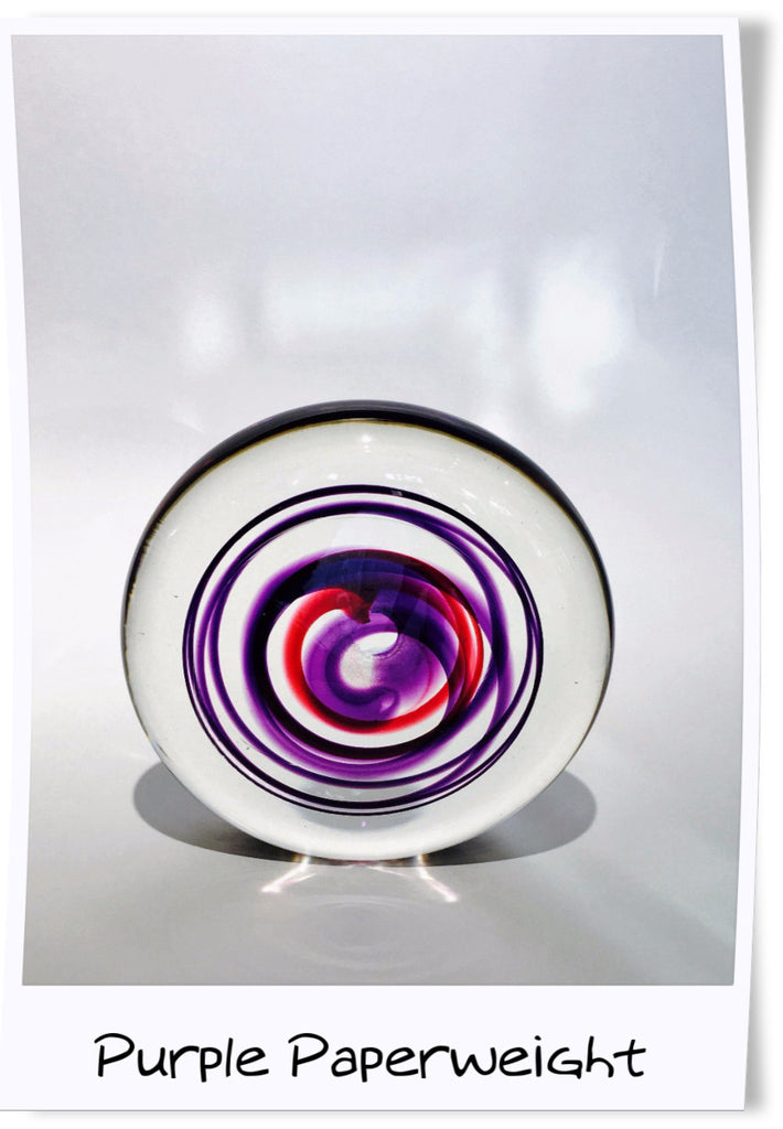 Swirly Paperweight by Jane Charles
