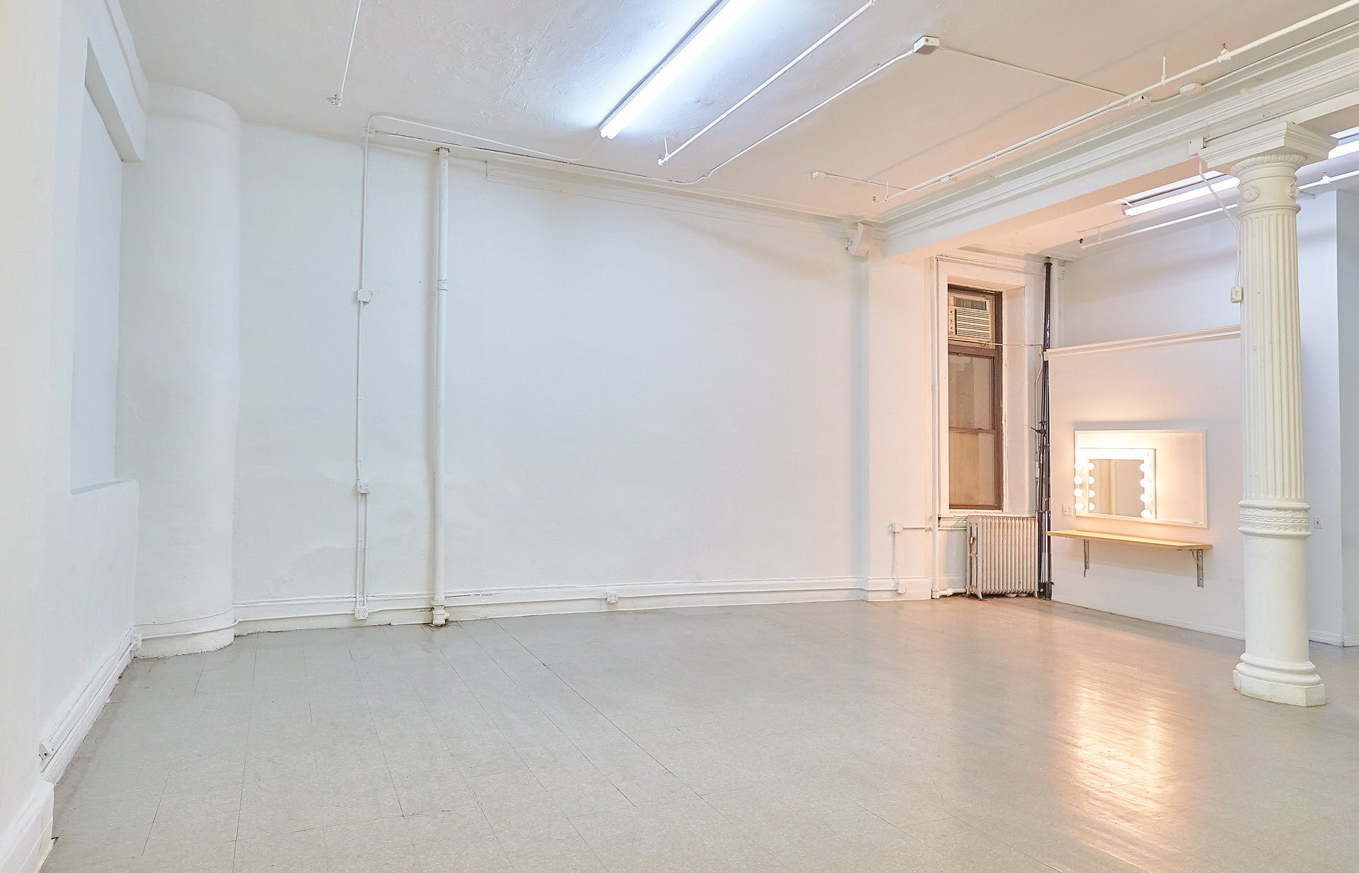 WHITE NYC SPACE TO FILM