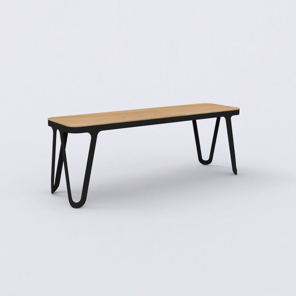 Loop Bench Oak