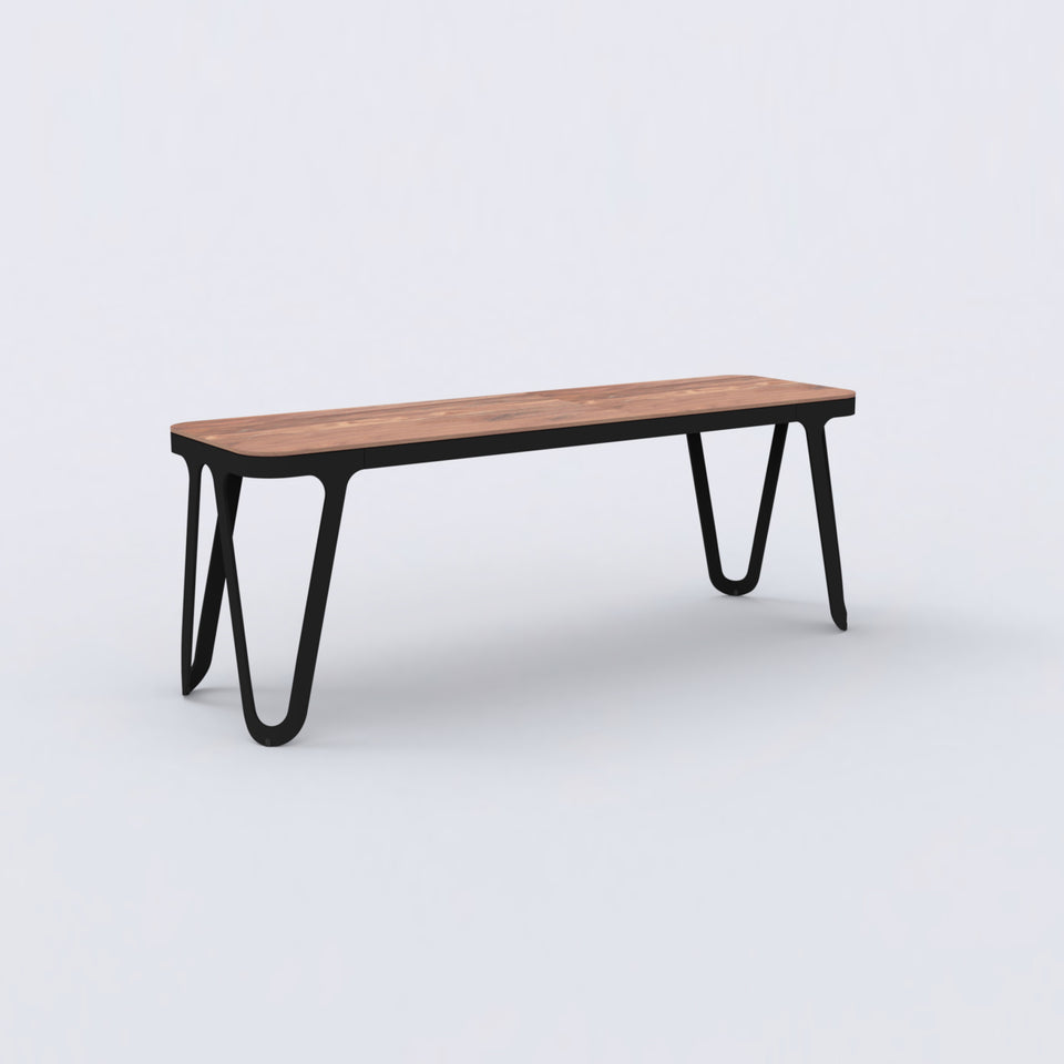Loop Bench / Walnut