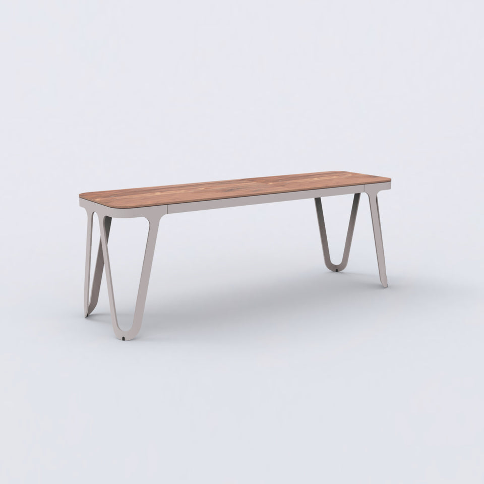 Loop Bench American walnut