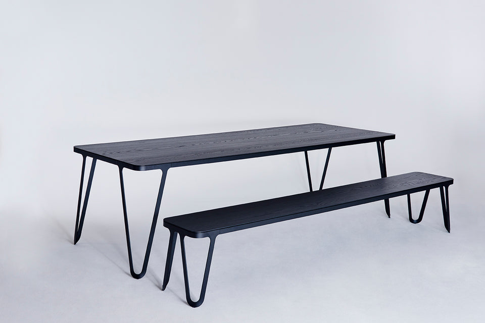 Loop Table/ Ash Black