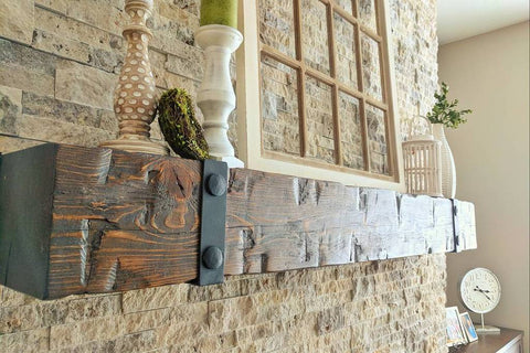 Hewn Mantels/Decor