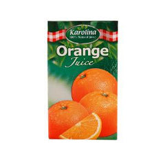 KAROLINA NATURAL ORANGE JUICE 250 ML