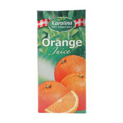 KAROLINA NATURAL ORANGE JUICE 1 LTR