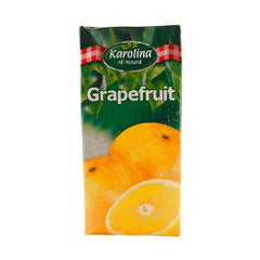 KAROLINA NATURAL GRAPE FRUIT JUICE 1 LTR