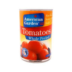 AMERICAN GARDEN WHOLE PEELED TOMATOES 14.5OZ(411GR)