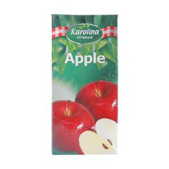 KAROLINA NATURAL APPLE JUICE 1 LTR