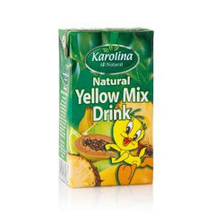 KAROLINA NATURAL YELLOW MIX FRUIT 125 ML
