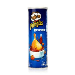 PRINGLES POTATO CHIPS KETCHUP 165 GR