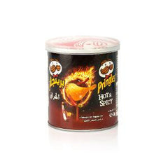 PRINGLES POTATO CHIPS HOT&SPICY 40 GM