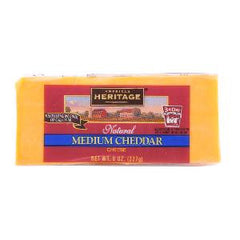AMERICAN H.NATURAL MED CHEDDAR CHEESE 227 GM