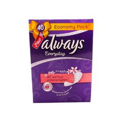 ALWAYS EVERYDAY NORMAL FRESH ECONOMY40 PCS