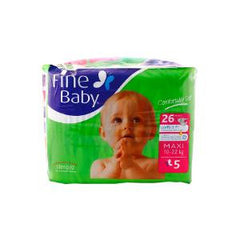BABY DIAPERS FINE BABY LARGE CS