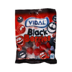 VIDAL BLACK BERRIES CANDY FRUITS 100 GR